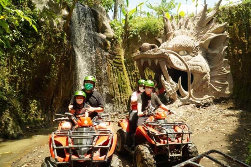 ATV Bali Melewati Rute Goa