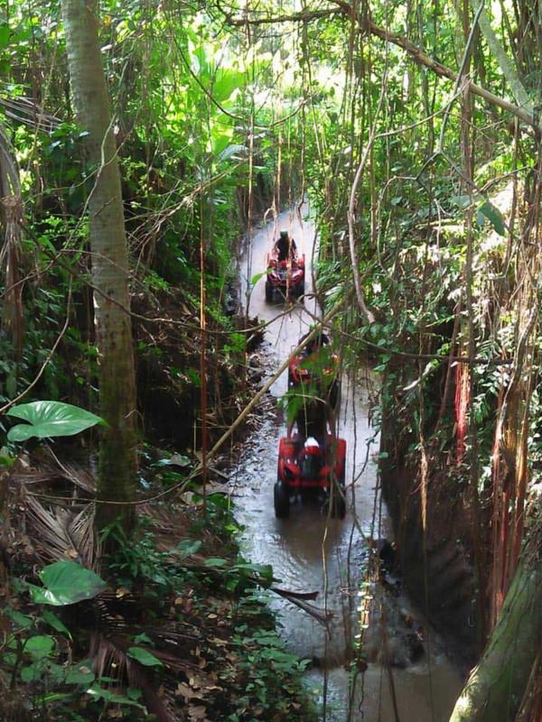 ATV Ubud Dengan Trek Sungai