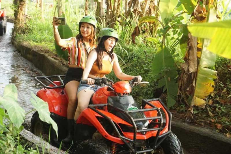 Main ATV Di Ubud Bali