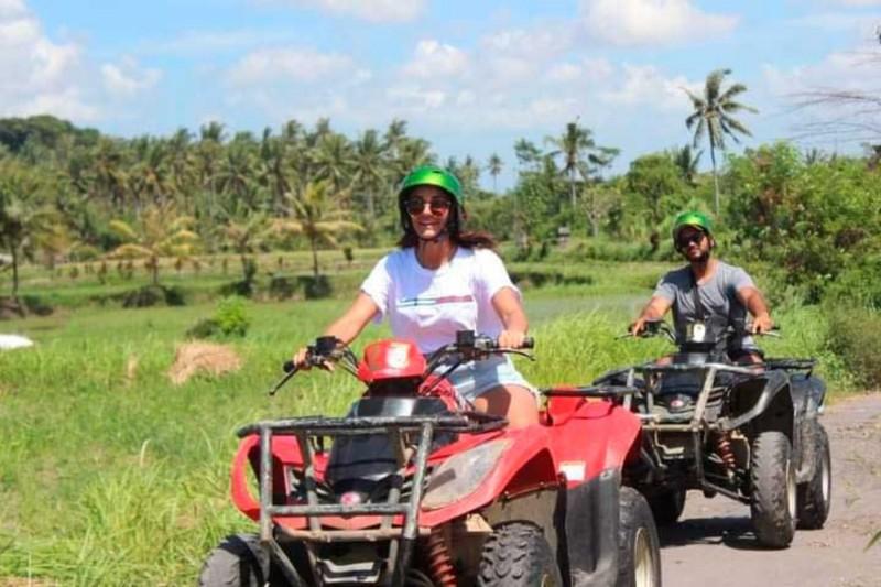 Menyusuri Pedesaan Bali Dengan ATV