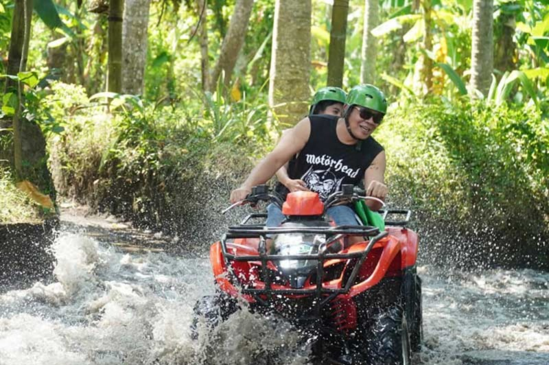 Petualangan ATV Tandem Bali