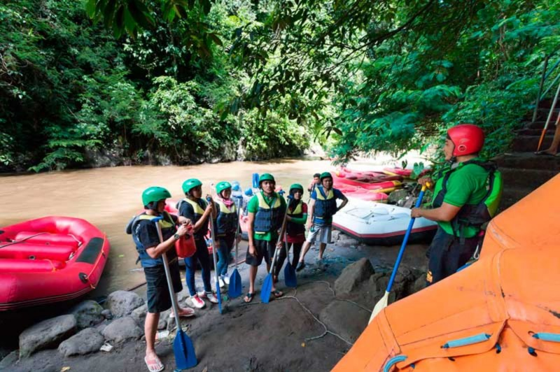 Rafting Sungai Ayung Bali