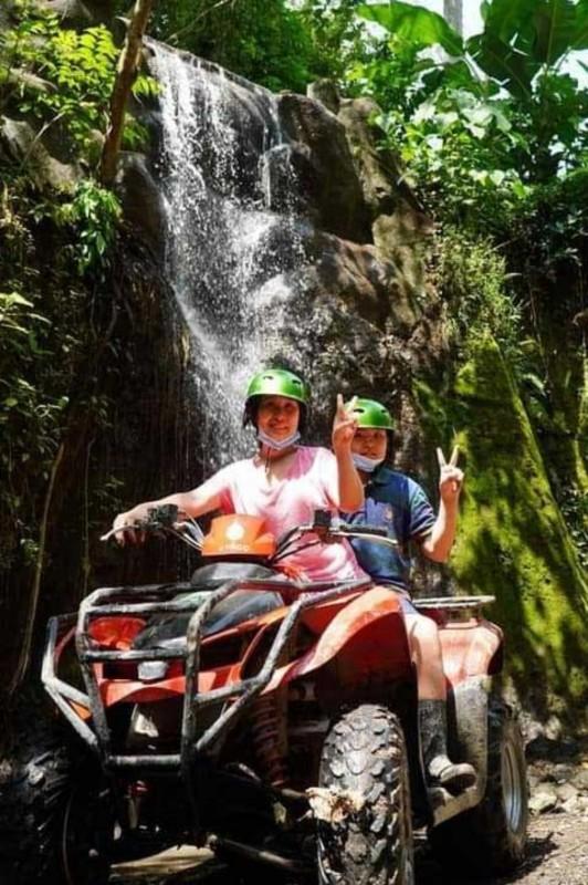 Rute ATV Bali Melewati Air Terjun
