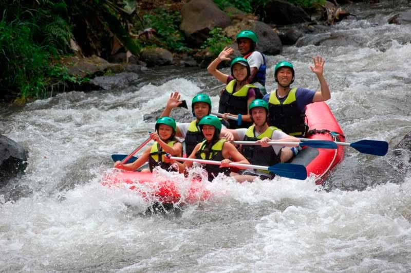 Wisata Rafting Di Sungai Ayung Ubud